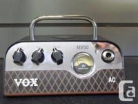 Vox MV 50 Mini Tube Amp and Cabinet. Amp is 25 watts at