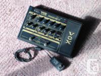 VOX - TONELAB ST- GUITAR EFFECTS PEDAL . TUBE PRE.$175 for sale  British Columbia
