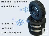 WINTER TIRE PACKAGES Example: Voyager, Grand Caravan,