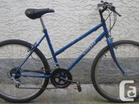 """Voyageur with 26""""tires. This bike, like all the bikes I"""