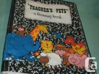 Handmade cloth Book it has (6) different Nursery