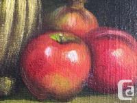 "OIL ORIGINAL on CANVAS KANCE American Art Painter 8"" x for sale  British Columbia"