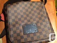 Mens Louis Vuitton Brooklyn messenger bag. - bought for