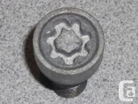 VW / Audi OEM wheel lock set for sale Ball Seat Wheel
