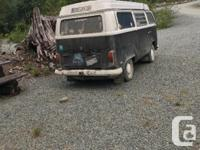 Make Volkswagen Model Type 2 Year 1972 Colour Black and