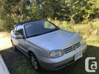 Make Volkswagen Model Cabrio Year 2002 Colour silver
