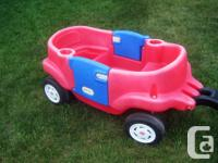 Little Tikes Deluxe 2 Door Wagon for Sale. Two working