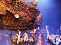 I have 3 tickets to the Walking with Dinosaurs live