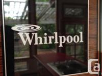 Whirlpool wall oven (and its cabinet, which is made of