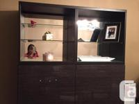 Good condition, wall unit with lots of storage space