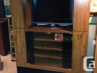 """Wall Unit - Great condition.  44"""" wide x 16.5"""" deep x"""