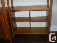 Near mint condition. Solid pine meticulously stained