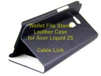 Slim Flip Stand Leather Cover Case Wallet For Acer for sale  Ontario