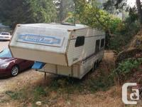 travel trailer - not being used - in pretty good shape