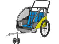 A double or single bike trailer/chariot/stroller/jogger