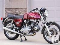Make Ducati Year 1974 kms 55555 im looking for older