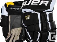 Looking for a set of black hockey gloves. Probably size