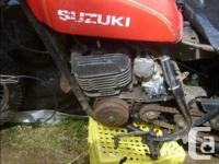 Wanted 1968/69 Honda CL450 parts - 1 set forks, wheels,