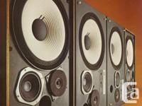 I am looking for JBL 43XX speakers in good to excellent