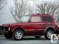 Looking for a Lada Niva (Cossack trim preferred) that's