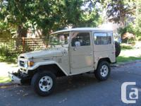 Make Toyota Model Land Cruiser Year 1984 Trans Manual