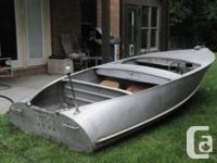Hi, I am looking for a vintage aluminum runabout ( not
