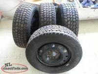 I'm looking for a set of four Winter tires and wheels