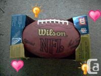 Wow! Available for sale: Genuine NFL video game sphere