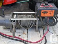 I'm selling my Warn M8000 winch. It is a solid,, used for sale  British Columbia