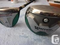 Mens right handed driver 10 degree and 3 wood 15