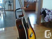 I have for sale a Washburn Acoustic electric guitar in