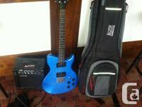 I have a washburn electric guitar, little amp, patch