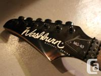 Washburn Electric Guitar, Great Condition, but no
