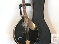 Washburn M1 SDL Deluxe mandolin. Features situation and