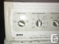 Washer and Dryer. Kenmore. Good condition, washer and