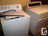 For sale, used Maytag washer and Inglis dryer both used