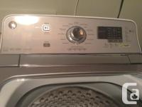 Brand New GE High Efficiency top load washer and front