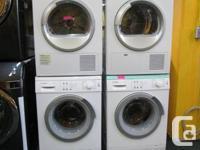 Bosch German made washer dryer set $2400. brand new.