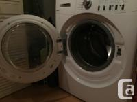 We have to sell our Washer/Dryer because we are moving