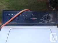 Whirlpool very capscity 6 pattern washing machine. In