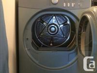 Full size apartment stackable front load washer and