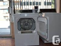 Washer & Dryers 1 GE Commercial Gas Dryer with token