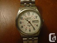 New watches, never worn (like new).   1- Seiko