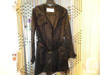 Jessica Simpson belted rainfall coat - brand-new with