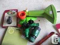 WATER HOSE FITTINGS From $2.00 to $4.00 each. In new to