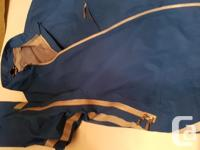 EUC waterproof Keela brand cycling jacket, men's