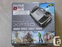 Digital camera with HD video, 14 megapixels, 5x wide
