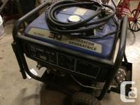 TG 7000 Watt (6000 Continuous) ETQ Portable Gas