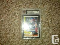 1980-81 OPC 2nd Year #87 Wayne Gretzky card graded 9