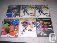 I am selling 6 Wayne Gretzky magazines that include: